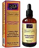 Blended Valley Aceite Amor y Atracción - Para Humidificador Aceites Esenciales, Difusor Aromaterapia o Quemador Incienso - Perfume Afrodisíaco Favorece la Relajación y la Pasión - Mejora del Ánimo