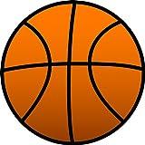9 Stück Muffinaufleger Muffinfoto Aufleger Foto Bild Basketball rund ca. 6 cm *NEU*OVP*