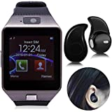 I KALL Smartwatch With Bluetooth Ipod Free- Black