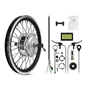 "AFTERPARTZ® E-bike Conversion Kit Frontmotor (16"")"