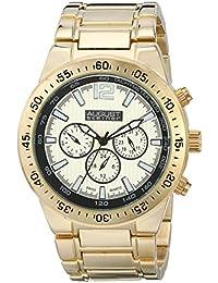 August Steiner AS8128YG - Reloj de cuarzo para hombres, color oro
