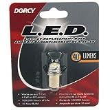 DORCY 41–164440-lumen, 4,5Armatur läuft LED Ersatz Glühbirne, Silber, S