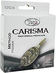 Angel cuerda York Carisma Method Feeder 150m/0,18–0,30mm Bobina monofile (0,02€/m), negro