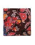 Desigual Damen Schal FOULARD_CALIFORNIA Fresh, Schwarz (Black 2000), One Size (Herstellergröße: U)