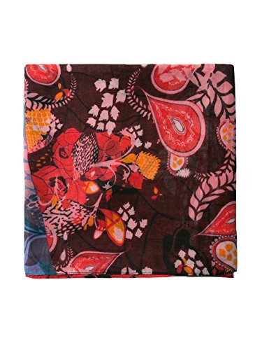 Desigual Foulard_California Fresh, Bufanda para Mujer, Negro (Black 2000), única (Talla del Fabricante: U)