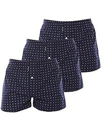Rooxs Herren Unterwäsche Boxershorts in Vielen Farben und Mustern (3er-Pack)