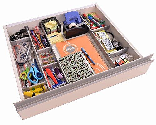 Verstellbarer Schubladen-Organizer Küche, eleganter modularer ...