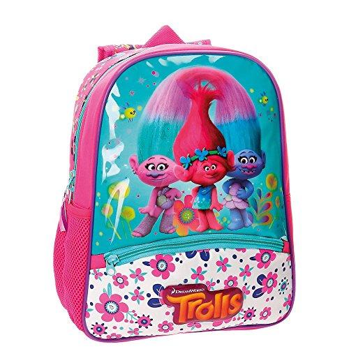 Trolls-4832251-Mochila-Infantil-33-cm-98-Litros-Multicolor
