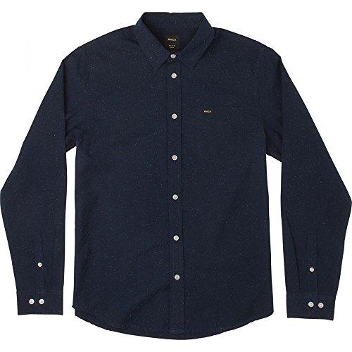 chemise-rvca-casey-bleue-m