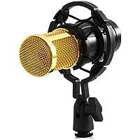 YooYoo BM–BM–800condensatore audio Microfono di registrazione con Shock Mount, black