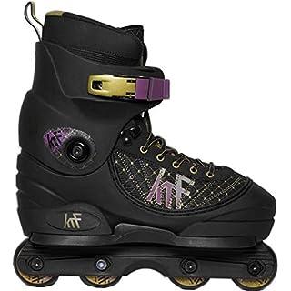 KRF Aggressive Pre-Roller In-line Skates Black, UK Men's Size 10