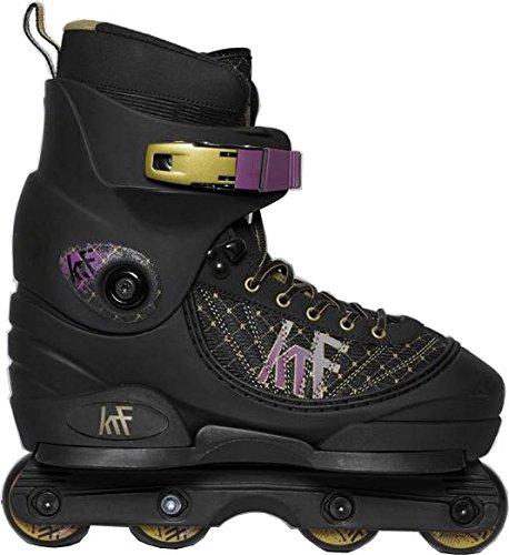 Aggressive Skate-roller (Aggressive KRF Pre Inlineskates, Schwarz, 40)