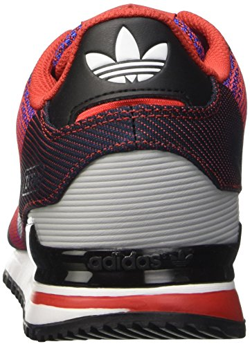 adidas Zx 750, Sneakers Basses homme Multicolore (Lusred/Ntnavy/Boblue)