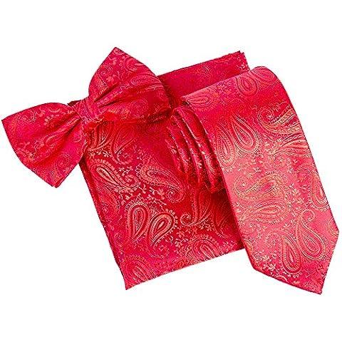 Robelli Herren Set mehrfarbig mehrfarbig onesize Gr. onesize, rot