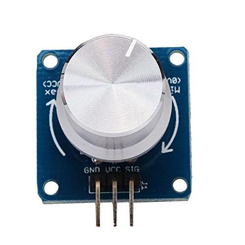 Einstellbare Potentiometer Lautstärkeregler Schalter Drehwinkelsensor Modul für Arduino