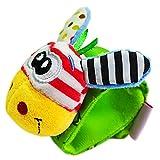 hou zhi liang Giocattoli Bambino Appena Nato Auto Culla Passeggino Handbells Rattle Animale Sveglio Giochi interattivi