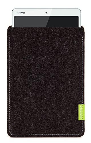 WildTech Sleeve für Huawei MediaPad M3 Hülle Tasche - 17 Farben (Handmade in Germany) - Anthrazit