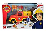 Speel Goed 79403-Camion dei pompieri Sam Venus brandweerauto con figurine, Multicolore immagine