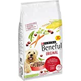 Purina Beneful Original Hundetrockenfutter (mit Rind und Gemüse), 1er Pack (1 x 12kg)