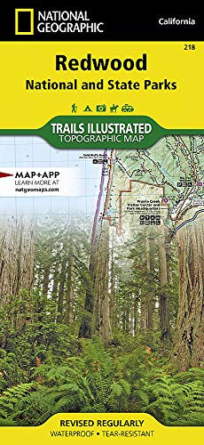 k: National Geographic Trails Illustrated Californien (National Geographic Trails Illustrated Map, Band 218) ()