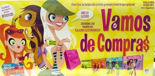 Vamos de Compras- Juego de mesa (Mall Madness Board Game-Spanish Version): Milton Bradley M04047