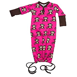 JNY Colourful Kids - Baby Boys Girls Sleeping Bag Sleeping Bag Monkey (40), Turquoise or Pink