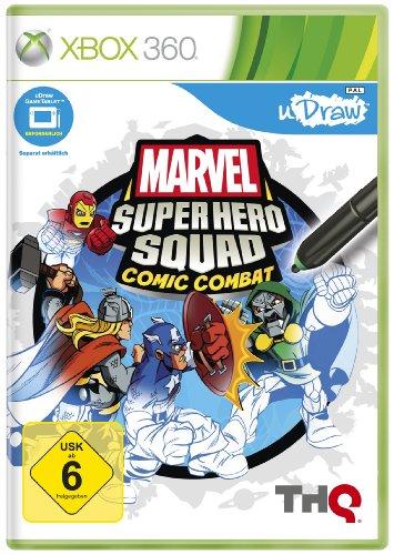 Marvel Super Hero Squad Comic Combat (uDraw (Kostüme Neue Thor)