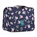 Homchen Hanging Travel Toiletry Bag, Waterproof Folding Portable Cosmetic Bag, Wash Bag