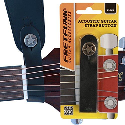 Fretfunk Gurtschlaufe/Strap für Akustikgitarren, mit Druckknopf
