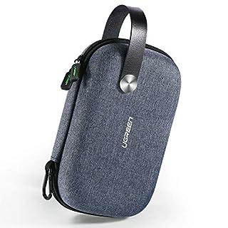 UGREEN Elektronische Tasche Elektronik Organizer Reise Tasche für Powerbank, Festplatten, Airpods, MP3,Handy Ladekabel, USB Netzteil, USB Stick, SD Karten; Lauptsprecher und GPS usw