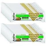 20 Barritas de Cereales con Semillas de Sésamo Foodness. Snacks Deliciosos y Nutritivos.