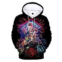 Stranger Things Hoodie Fashion 3D Printed Stranger Hoodie Pullover Sweatshirt Tops