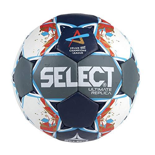SELECT Ultimate Replica Ball Unisex, Uni, Grey/Blue/red, junior(2)