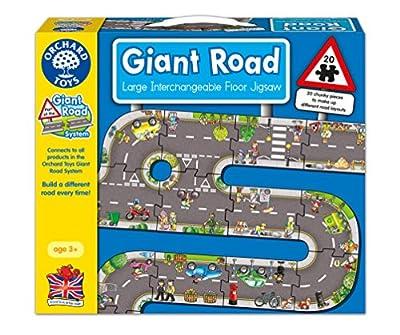 Orchard Toys - Puzzle gigante con diseño de carretera de Orchard Toys