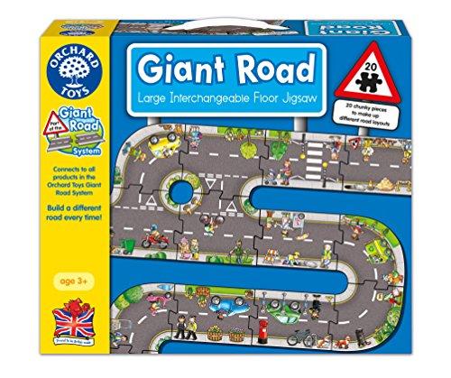 Orchard Toys - Puzzle gigante con diseño de carretera
