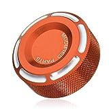 RouYuan Abdeckung for Bremsflüssigkeitsbehälter der hinteren CNC-Bremskupplung for Honda/Kawasaki/Suzuki Motorrad-Zubehör (Farbe : Orange)