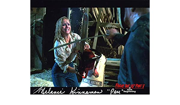 Melanie Kinnaman Hand Signed 8x10 Photo Friday the 13th Part 5 A New Beginning