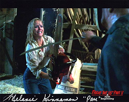 Melanie KINNAMAN Hand signiert 8x 10Foto Freitag der 13. Teil 5: A New Beginning