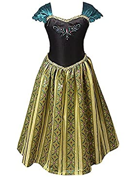 Costume principessa per bimbe. Non Disney. Alternativa di alta qualità. Soddisfatto o rimborsato by Ducomi (Classico...