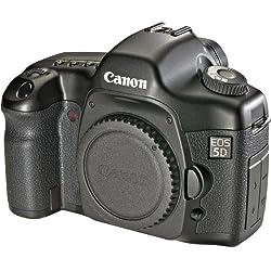 Canon EOS 5D Appareil photo numérique Reflex 12.8 Mpix Boîtier nu Noir