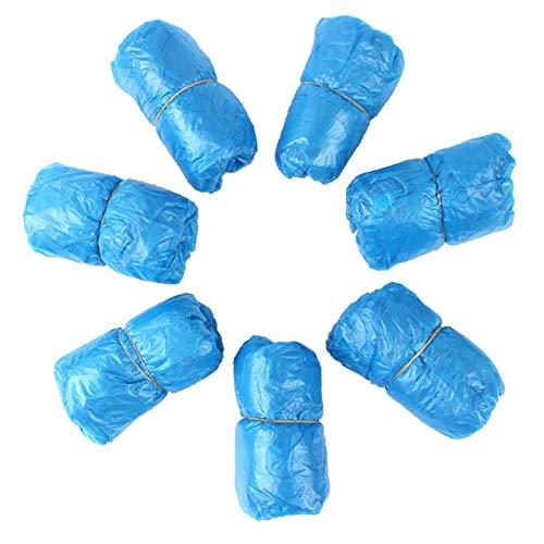shyyymaoyi Überschuhe für Schuhe, wasserdicht, Kunststoff, staubdicht, 200 Stück Mehrfarbig Multi - Regen Mehrfarbige Teppiche
