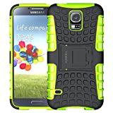 Samsung S5 Case,ALDHOFA Heavy Duty Shock Proof Rugged Armor Phone Case, Dual Layer