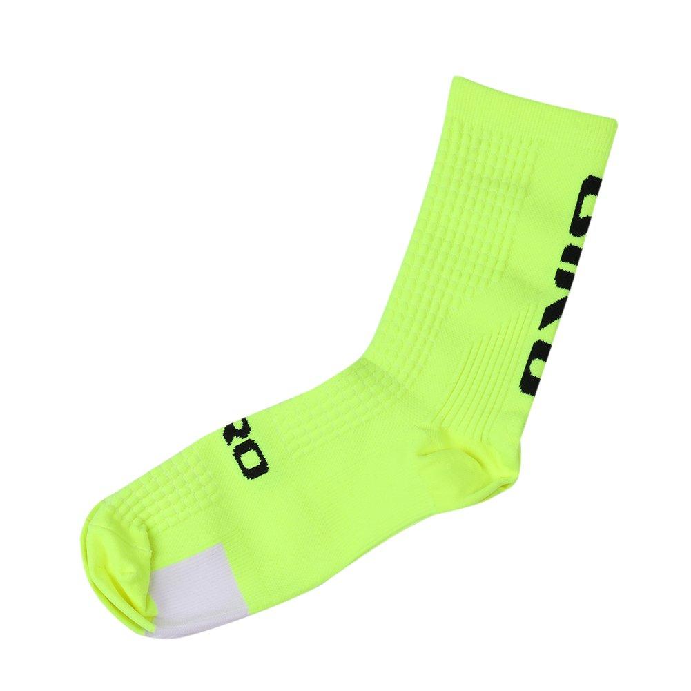 Youge Pack de 2 Calcetines de Atletismo al Aire Libre, Calcetines Deportivos para Correr, Ciclismo, Ciclismo, Escalada, esquí, Senderismo y Senderismo para el Hombre
