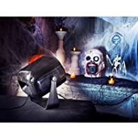 Mains Operated Halloween Sound & Light Thunder Strobe by Decor