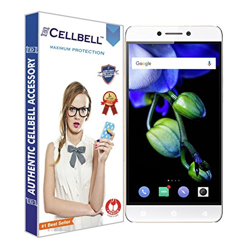 Cellbell TM Coolpad Cool1 9H Premium Tempered glass screen protector with FREE...