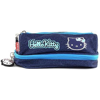 Hello Kitty 00567 – Estuche para escuela a tetra, color azul