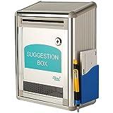 My Caridad Cajas ~ aluminio Sugerencia–Caja Donación de la ~ ~ buzón ~ Observaciones Caja
