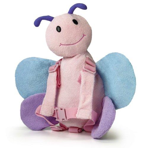 Preisvergleich Produktbild Goldbug Harness Buddy rosa schmetterling einheitsgröße