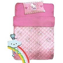 Colcha cuna Baby Hello Kitty rosa lunares 300gr * 06001