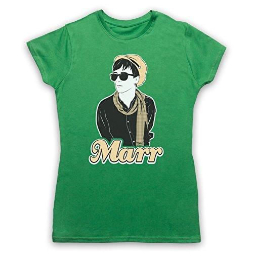 Inspiriert durch Smiths Johnny Marr Unofficial Damen T-Shirt Grun
